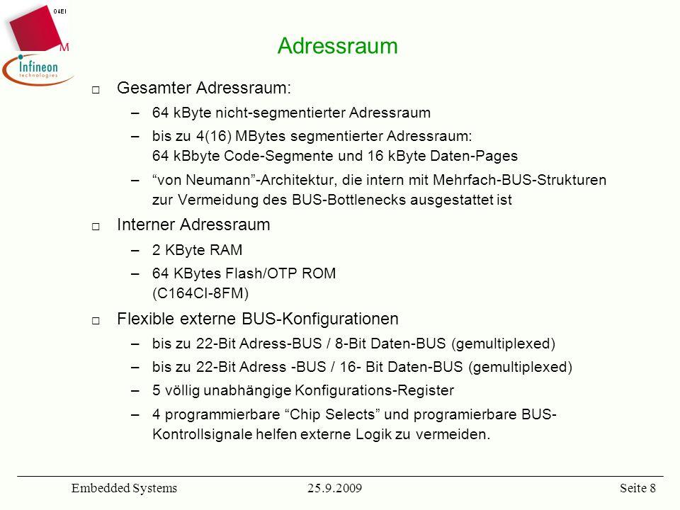 Adressraum Gesamter Adressraum: Interner Adressraum