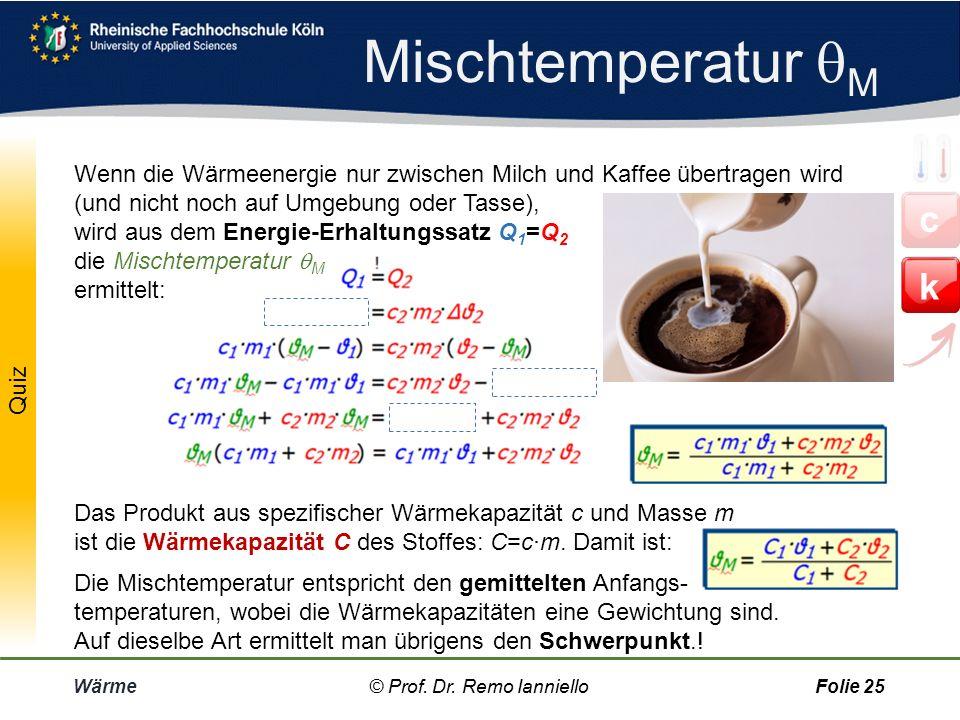 Mischtemperatur M
