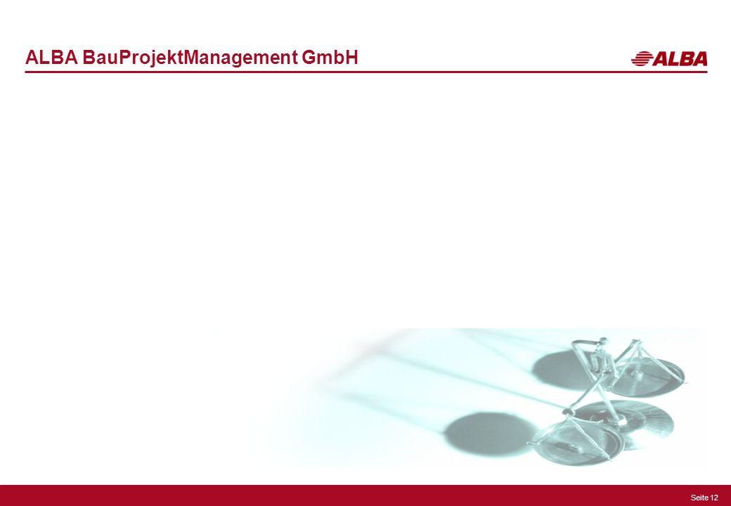 ALBA BauProjektManagement GmbH