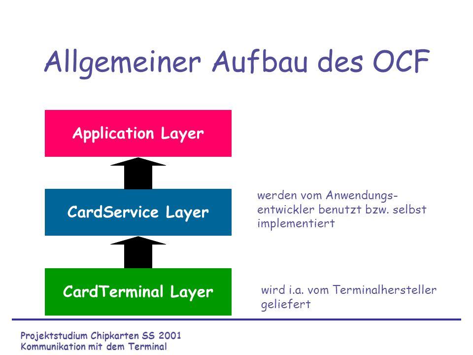 Allgemeiner Aufbau des OCF