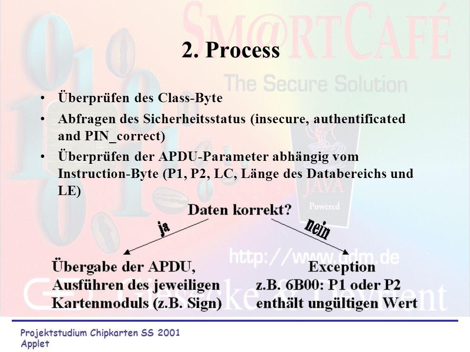2. Process Überprüfen des Class-Byte
