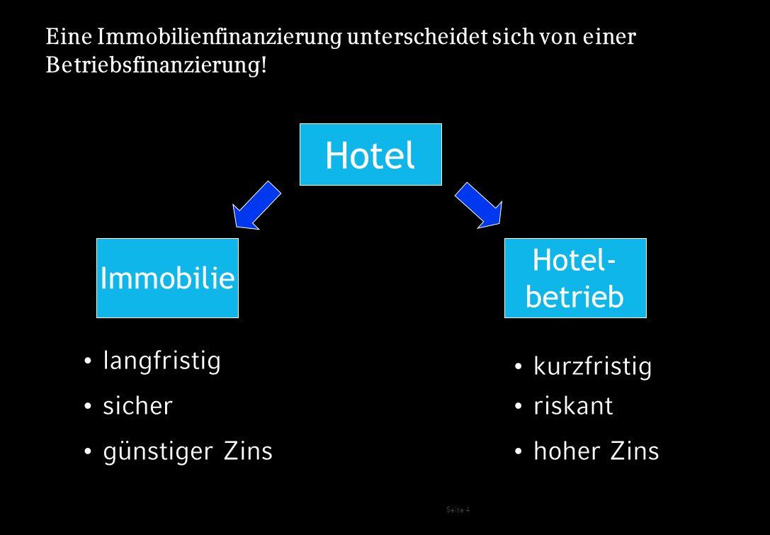 Hotel Hotel- Immobilie betrieb langfristig kurzfristig sicher riskant