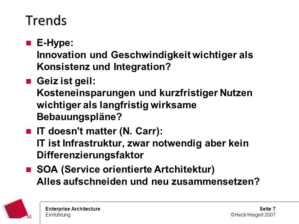 Trends E-Hype: Innovation und Geschwindigkeit wichtiger als Konsistenz und Integration