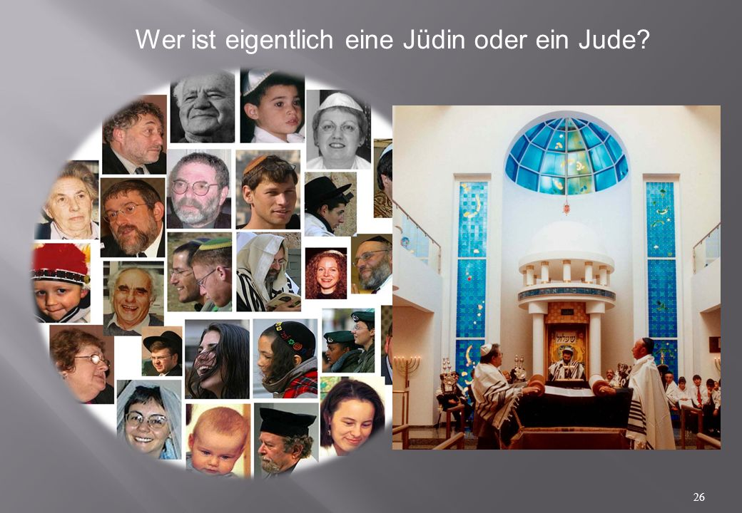 Wer ist eigentlich eine Jüdin oder ein Jude