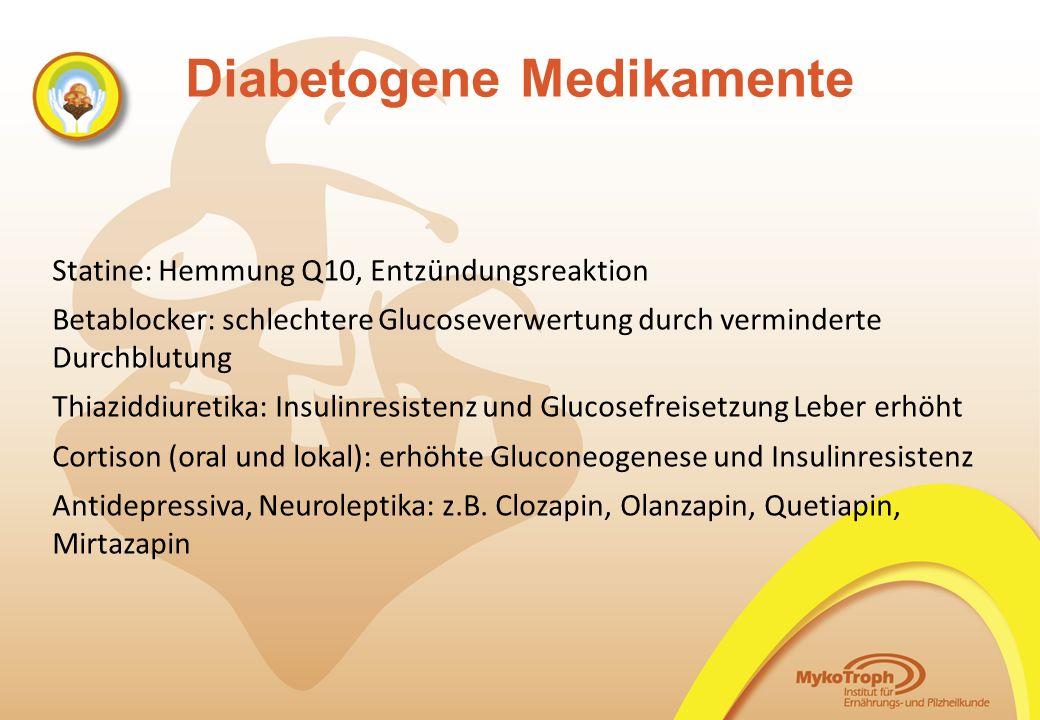 Diabetogene Medikamente