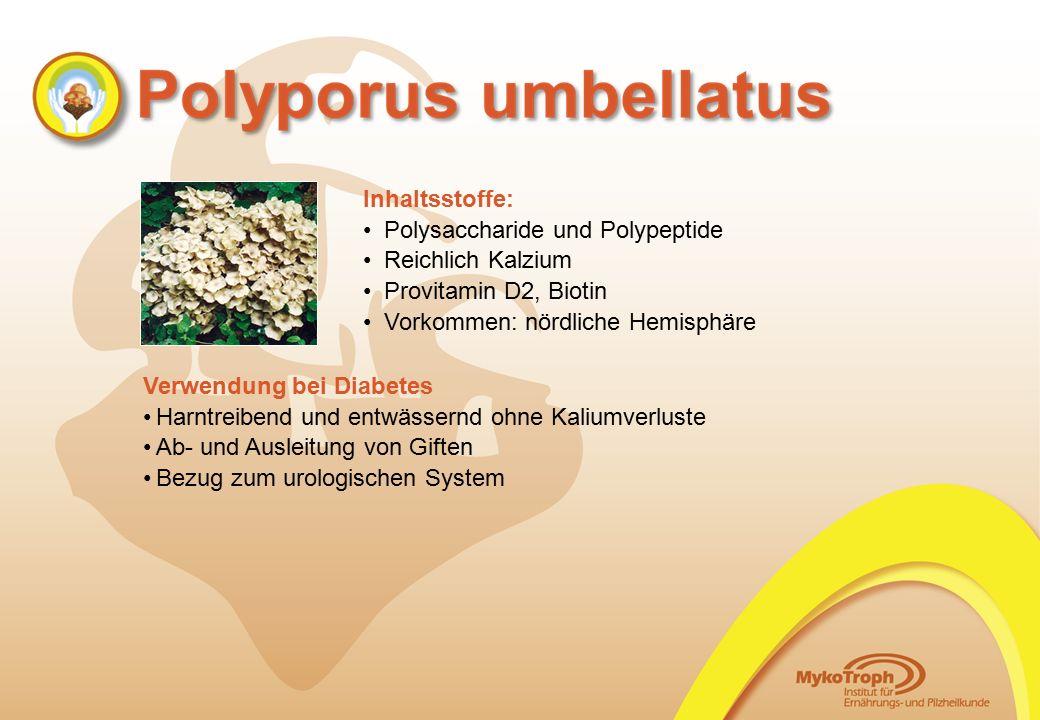 Polysaccharide und Polypeptide Reichlich Kalzium Provitamin D2, Biotin