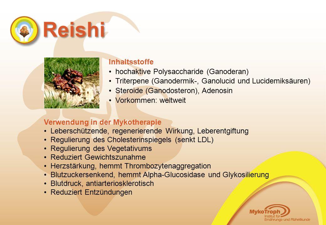 hochaktive Polysaccharide (Ganoderan)