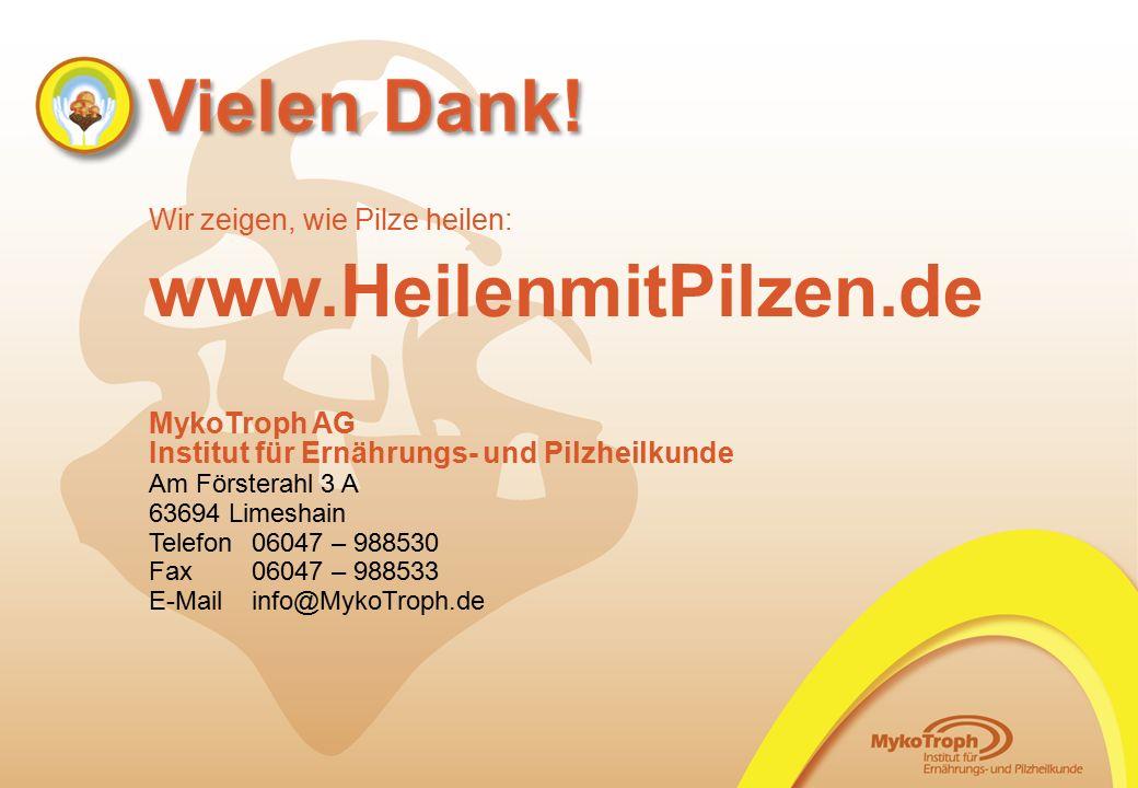 www.HeilenmitPilzen.de Wir zeigen, wie Pilze heilen: