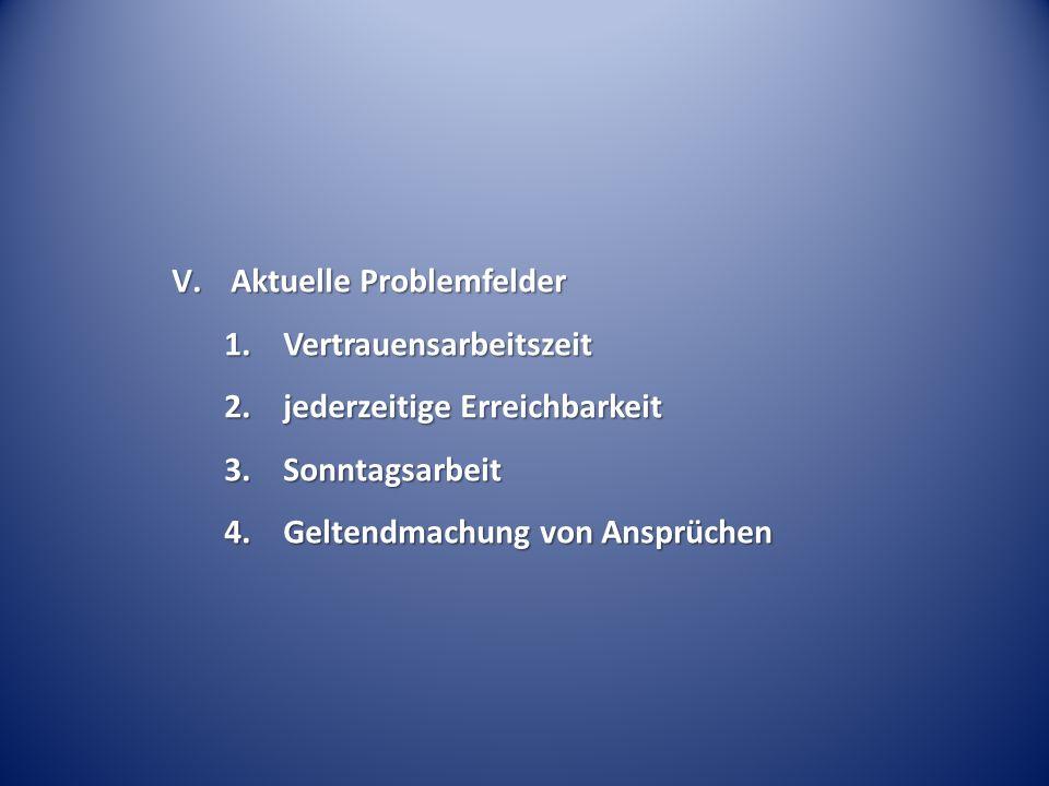 Aktuelle Problemfelder