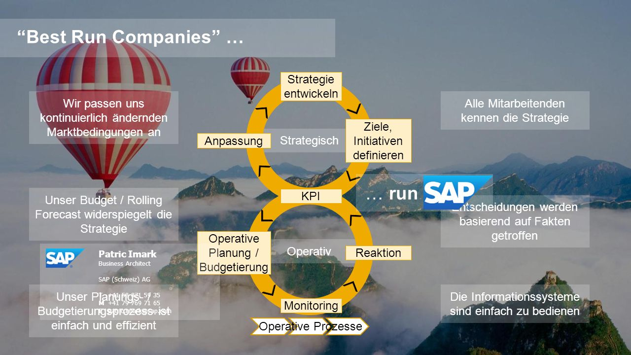 Best Run Companies … … run Strategie entwickeln