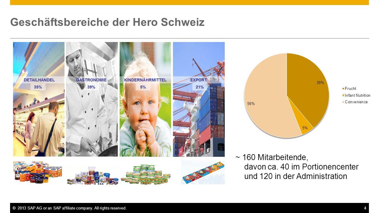 Geschäftsbereiche der Hero Schweiz
