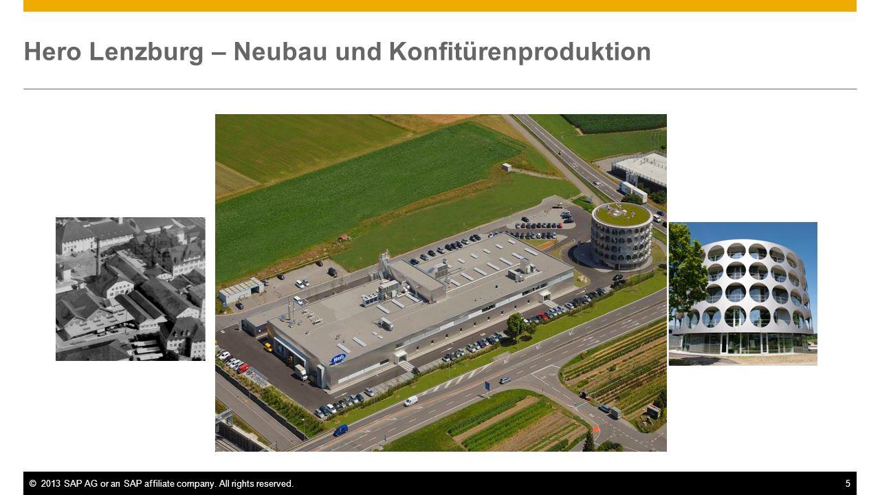 Hero Lenzburg – Neubau und Konfitürenproduktion