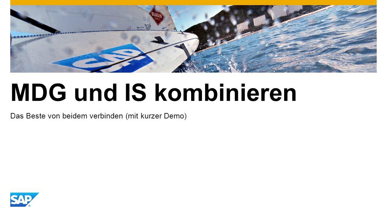 MDG und IS kombinieren Das Beste von beidem verbinden (mit kurzer Demo)