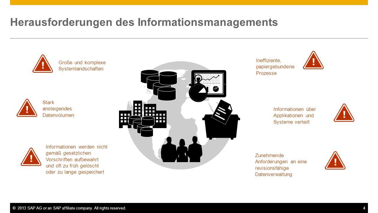 Herausforderungen des Informationsmanagements