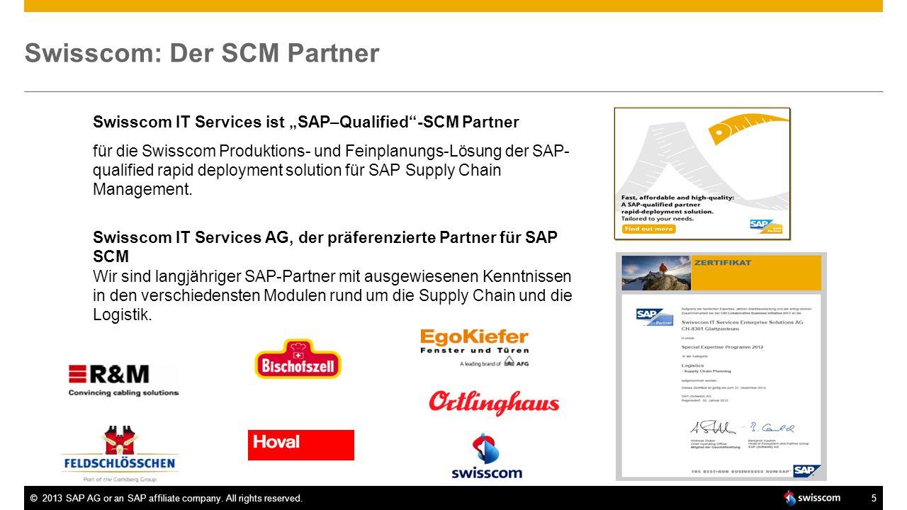 Swisscom: Der SCM Partner