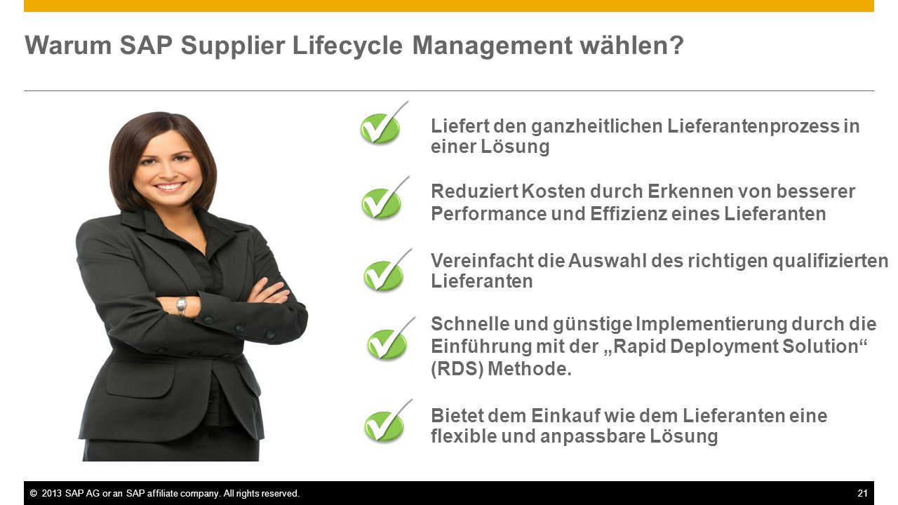 Warum SAP Supplier Lifecycle Management wählen