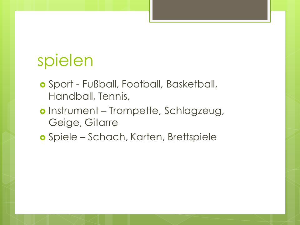 spielen Sport - Fußball, Football, Basketball, Handball, Tennis,