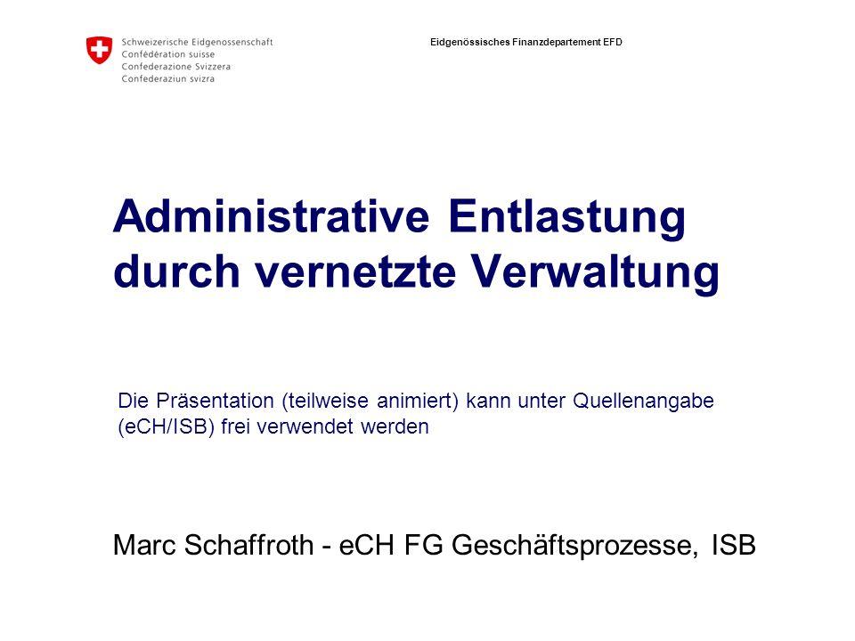 Administrative Entlastung durch vernetzte Verwaltung