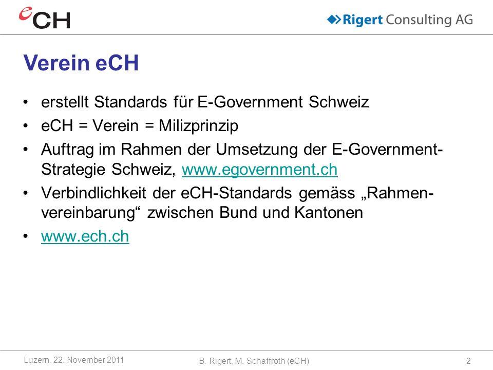 B. Rigert, M. Schaffroth (eCH)