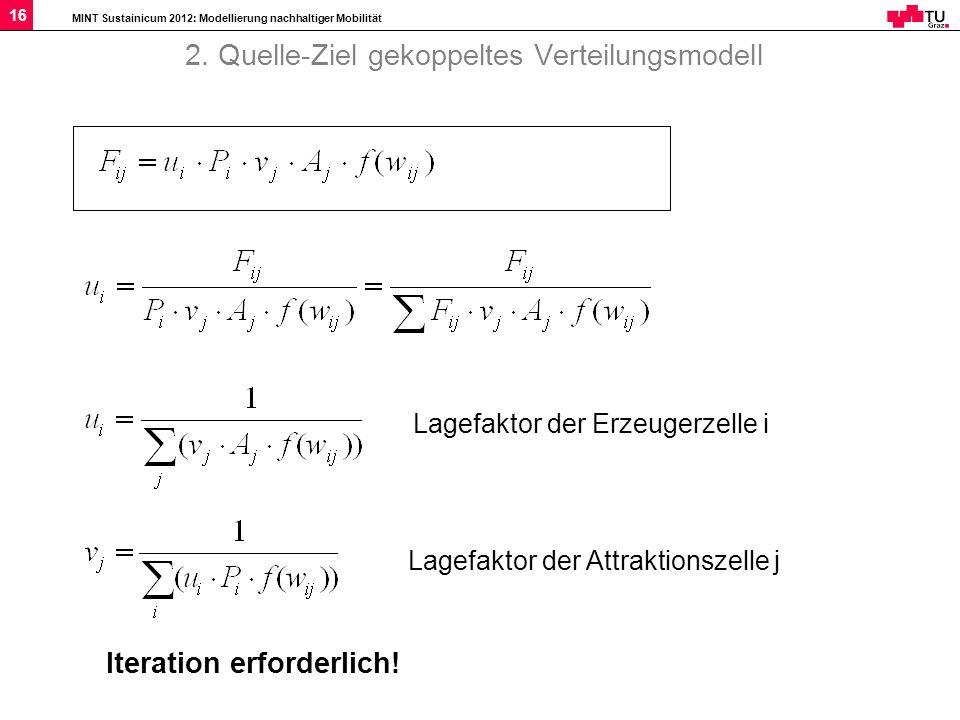 2. Quelle-Ziel gekoppeltes Verteilungsmodell