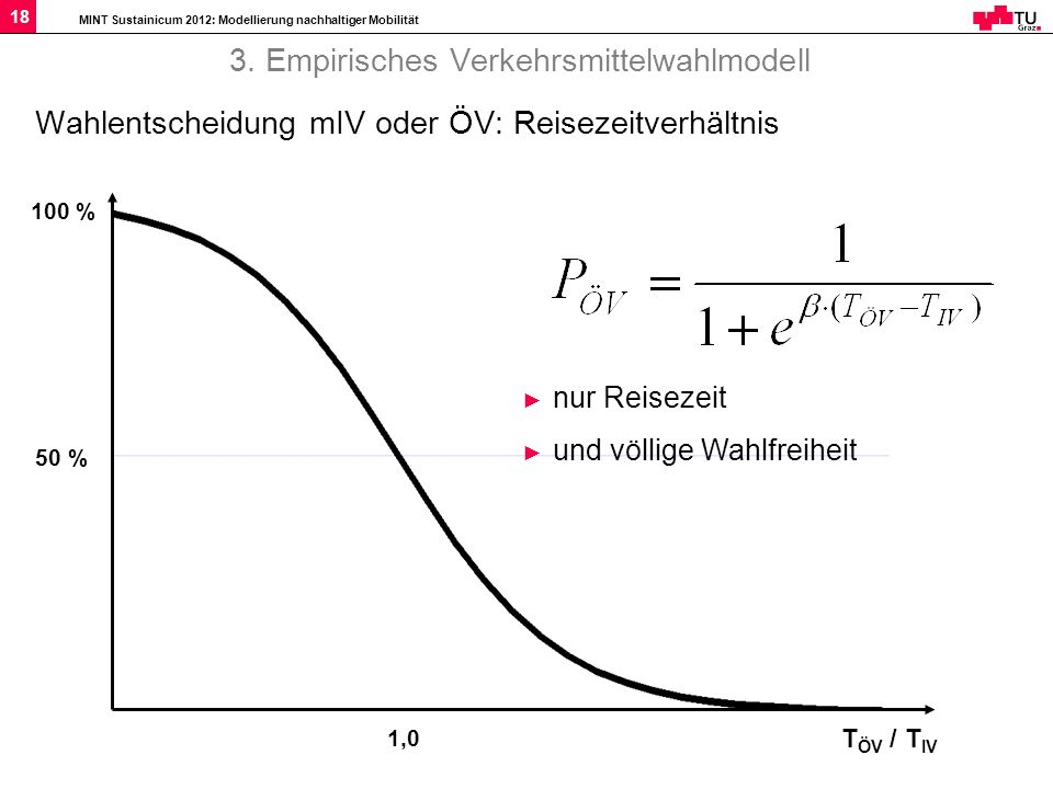 3. Empirisches Verkehrsmittelwahlmodell