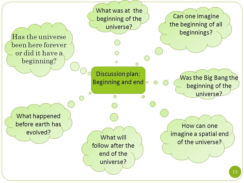 What was at the beginning of the universe
