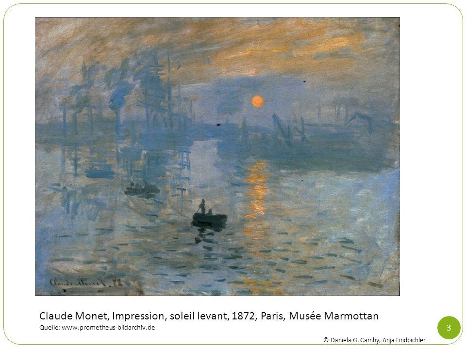 Claude Monet, Impression, soleil levant, 1872, Paris, Musée Marmottan