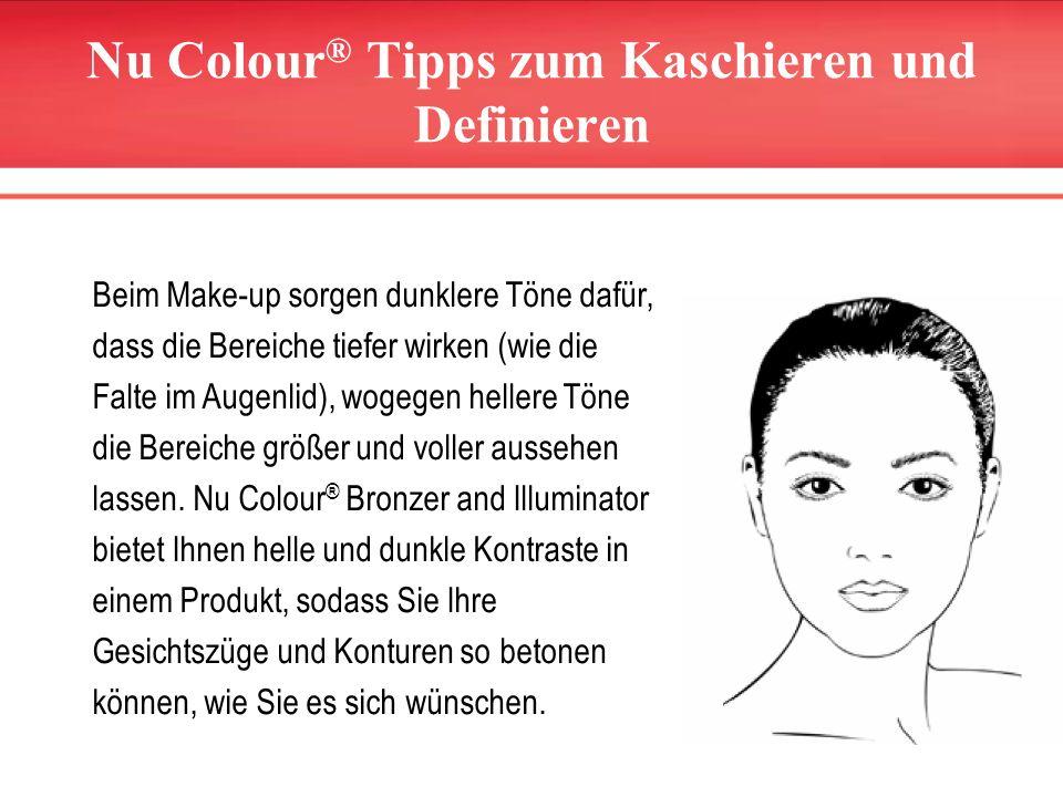 Nu Colour® Tipps zum Kaschieren und Definieren