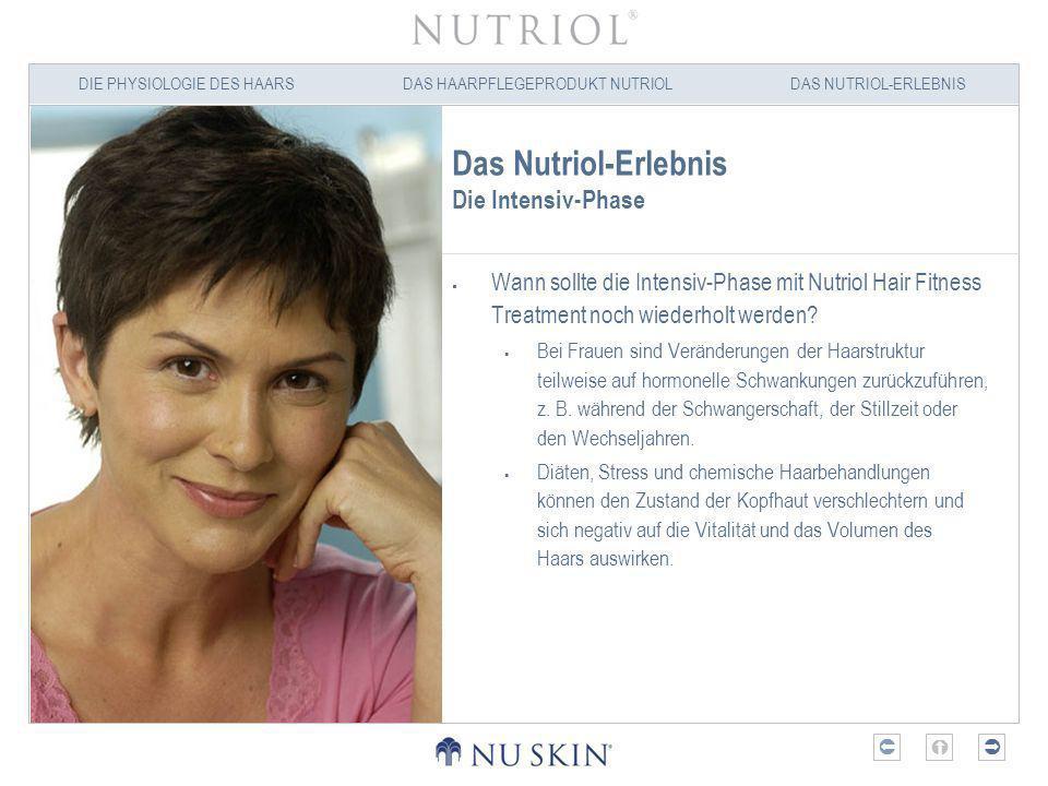 Das Nutriol-Erlebnis Die Intensiv-Phase