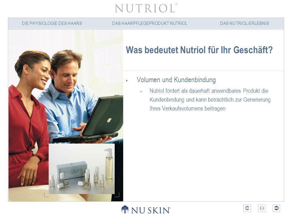 Was bedeutet Nutriol für Ihr Geschäft