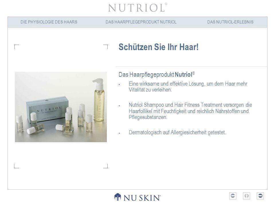 Schützen Sie Ihr Haar! Das Haarpflegeprodukt Nutriol®