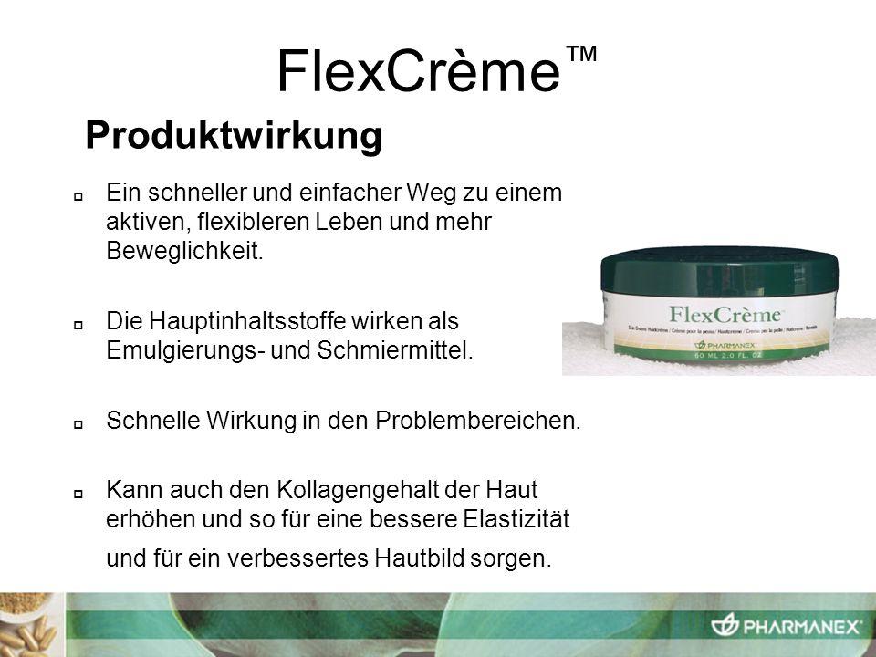 FlexCrème™ Produktwirkung