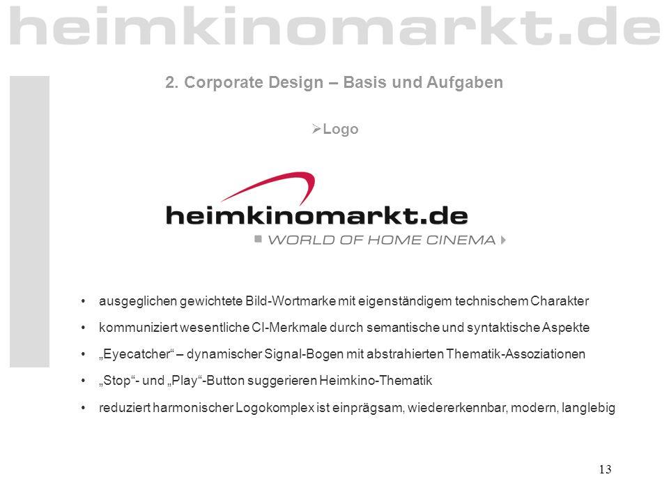 2. Corporate Design – Basis und Aufgaben