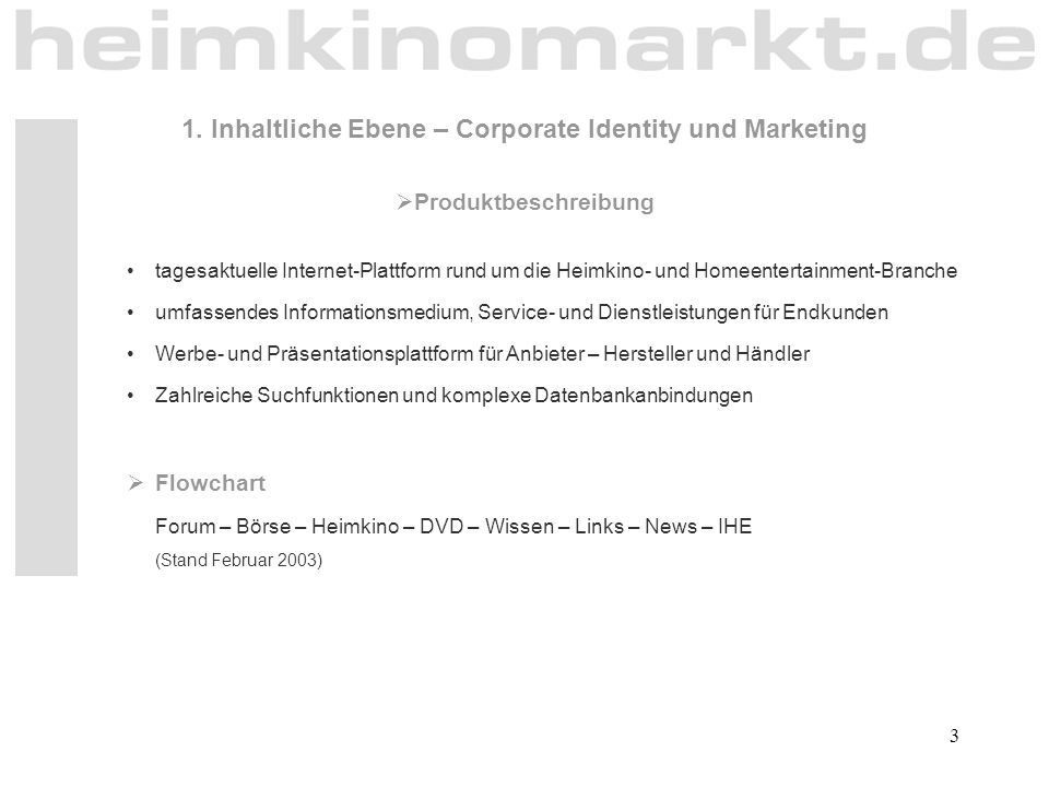 1. Inhaltliche Ebene – Corporate Identity und Marketing