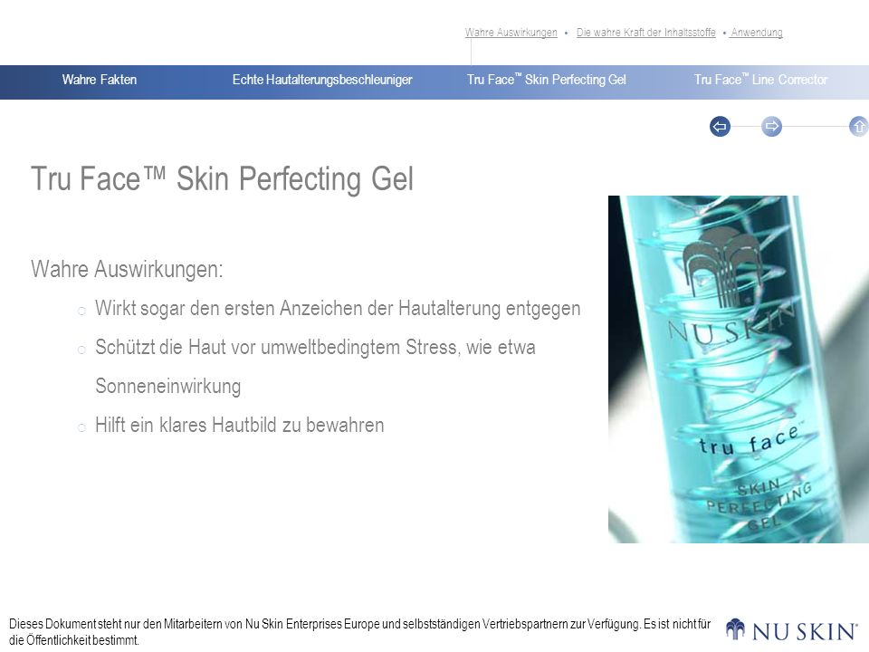 Tru Face™ Skin Perfecting Gel