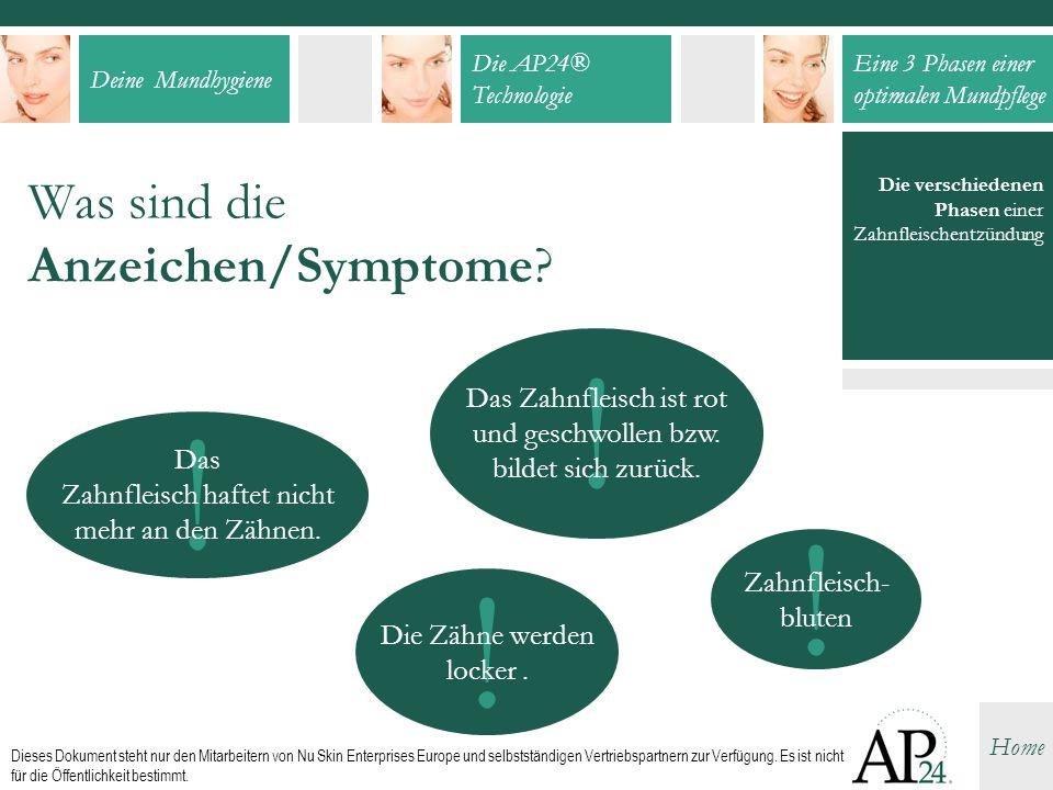 Was sind die Anzeichen/Symptome
