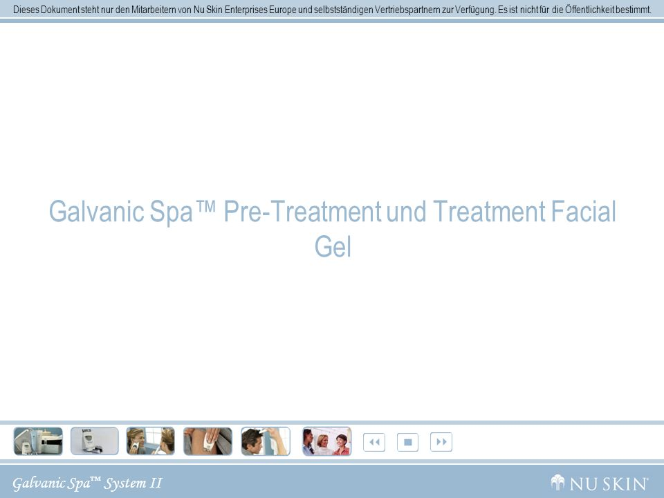 Galvanic Spa™ Pre-Treatment und Treatment Facial Gel