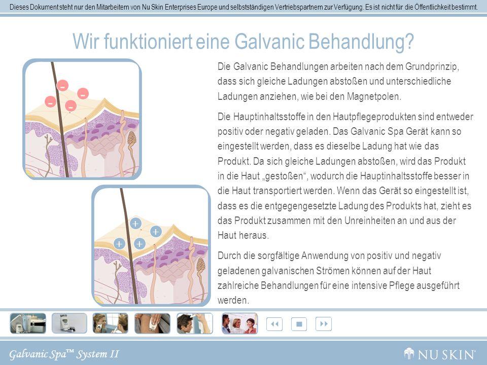 Wir funktioniert eine Galvanic Behandlung
