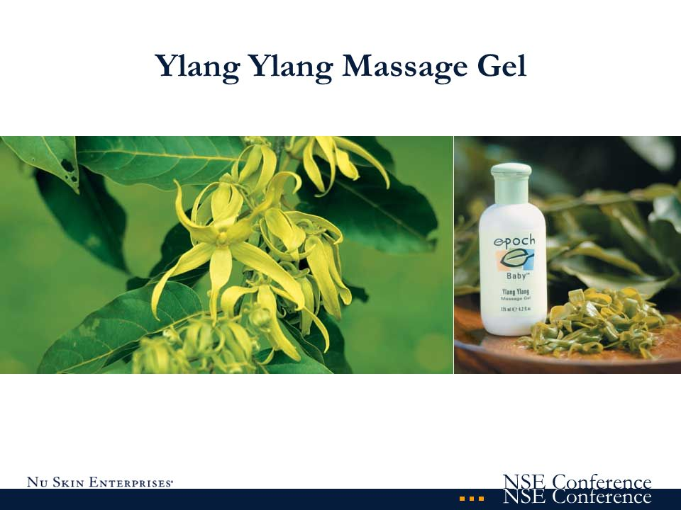 Ylang Ylang Massage Gel