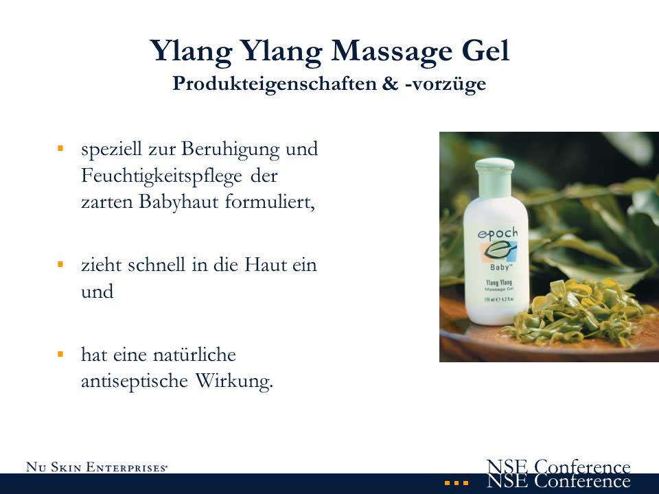 Ylang Ylang Massage Gel Produkteigenschaften & -vorzüge