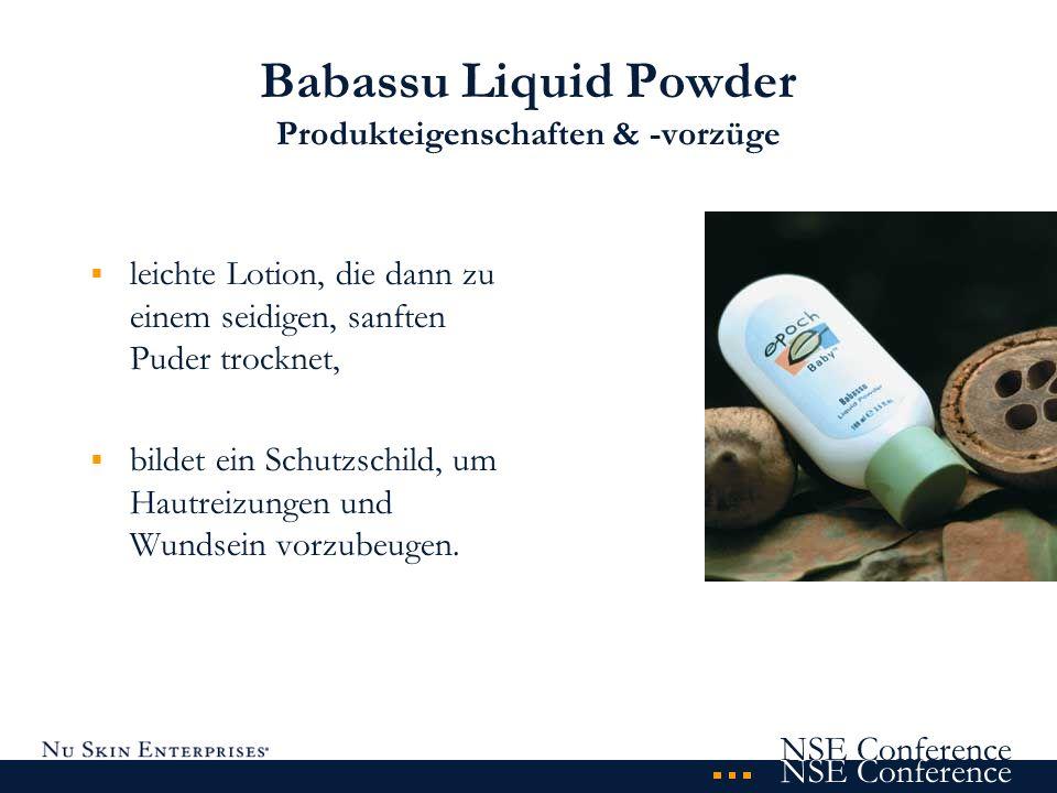 Babassu Liquid Powder Produkteigenschaften & -vorzüge