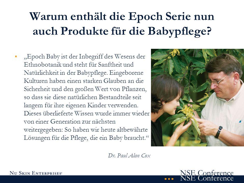 Warum enthält die Epoch Serie nun auch Produkte für die Babypflege