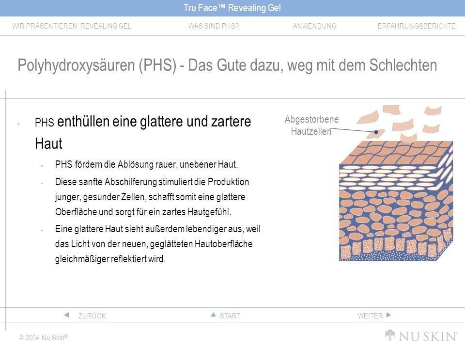 Polyhydroxysäuren (PHS) - Das Gute dazu, weg mit dem Schlechten