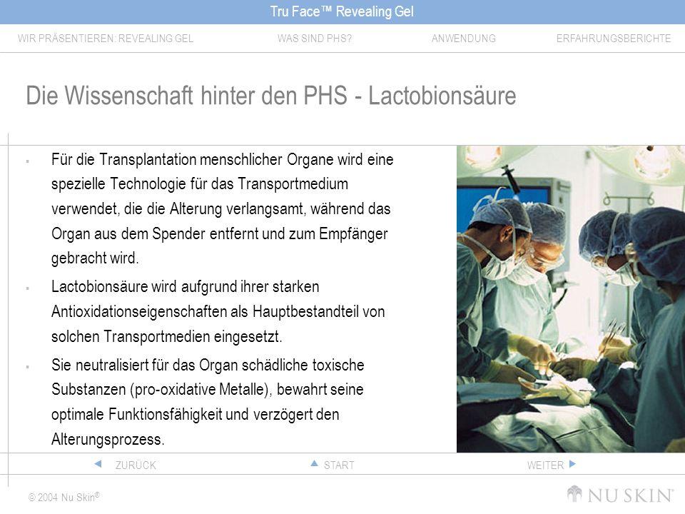Die Wissenschaft hinter den PHS - Lactobionsäure