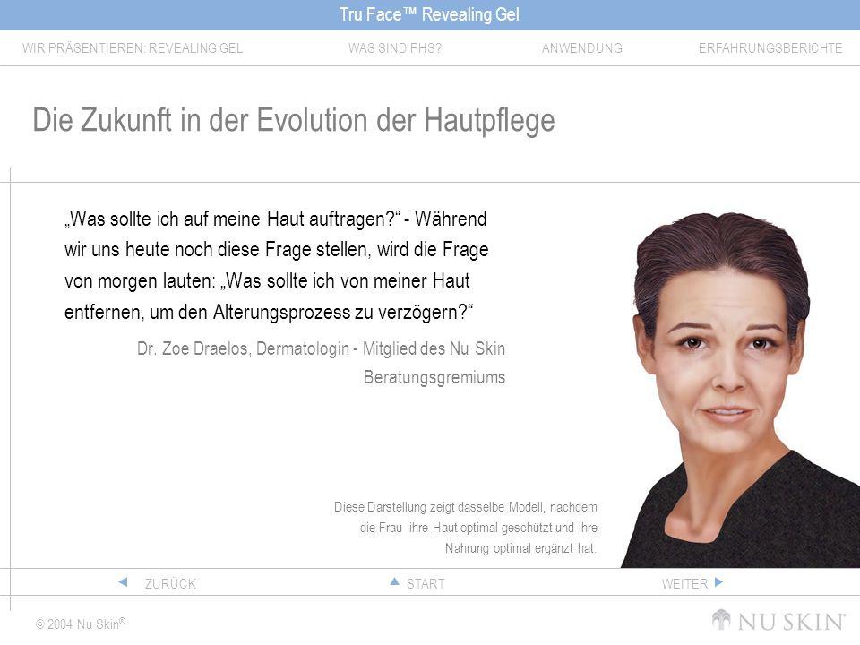 Die Zukunft in der Evolution der Hautpflege
