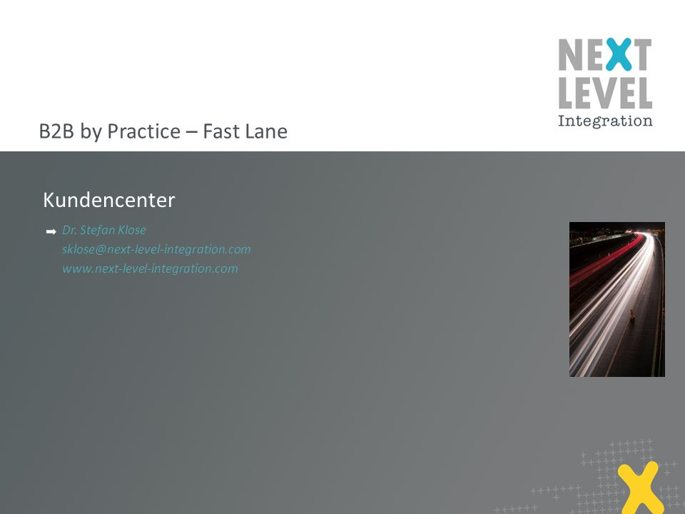 B2B by Practice – Fast Lane