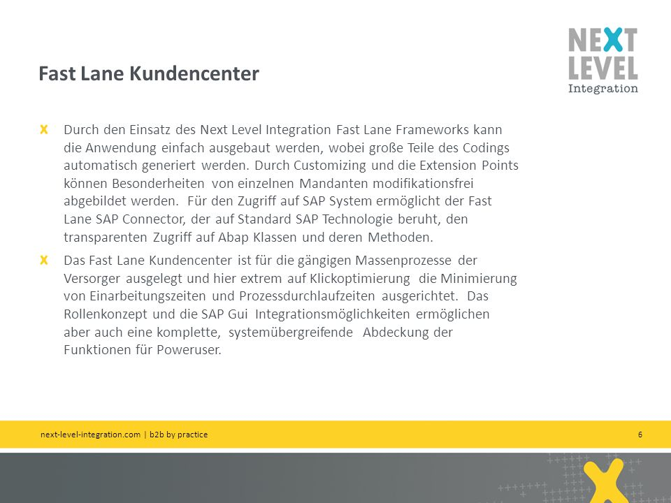 Fast Lane Kundencenter