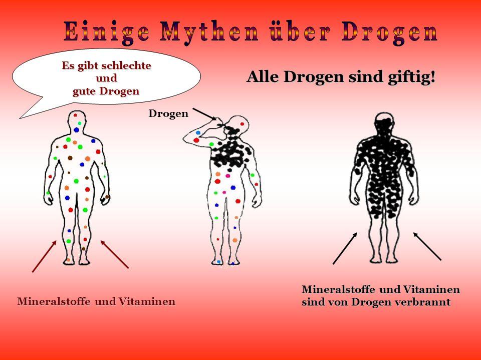 Einige Mythen über Drogen