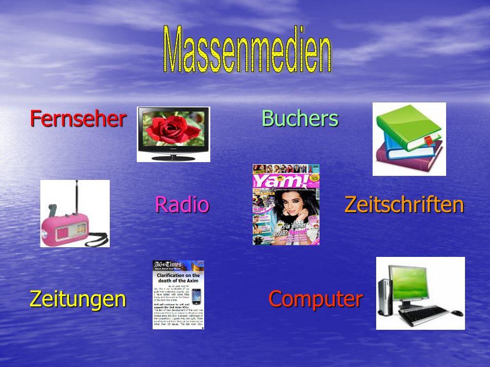 Massenmedien Fernseher Buchers.