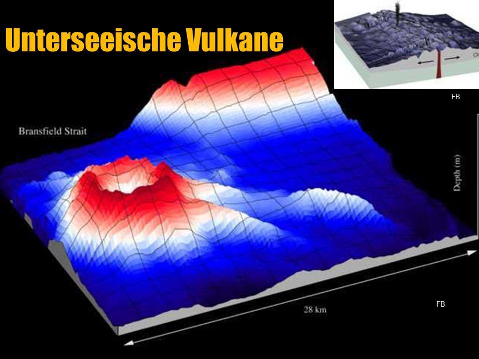 Unterseeische Vulkane